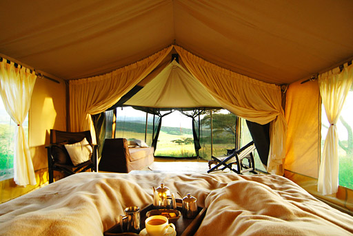 Glamping in Britian - Via RoughGuides